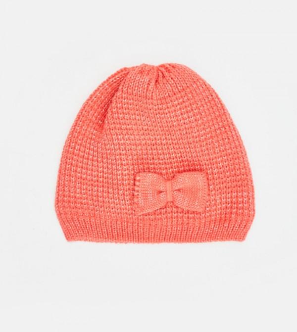 قبعة تريكو مع فيونكة