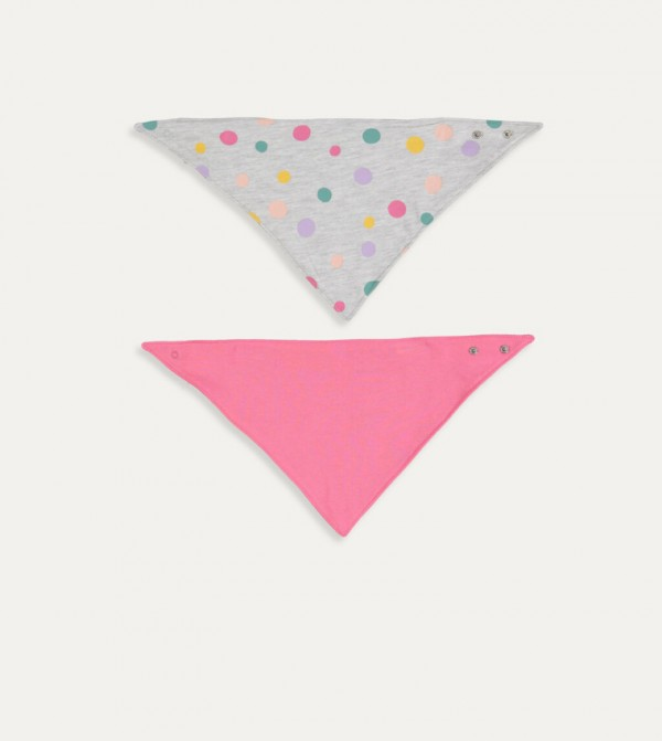 Apron 2 Pieces-Mid Pink