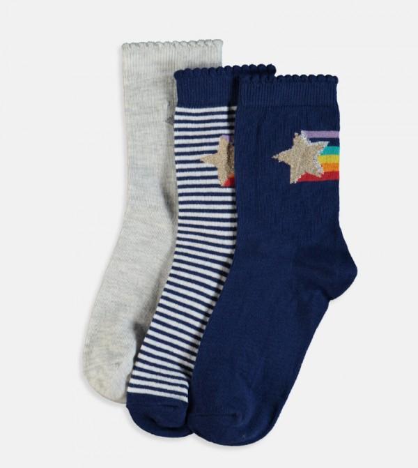 طقم جوارب 3 قطع