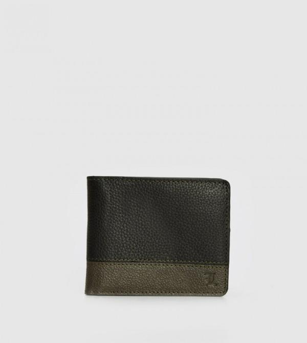 Genuine Leather Wallet-Black