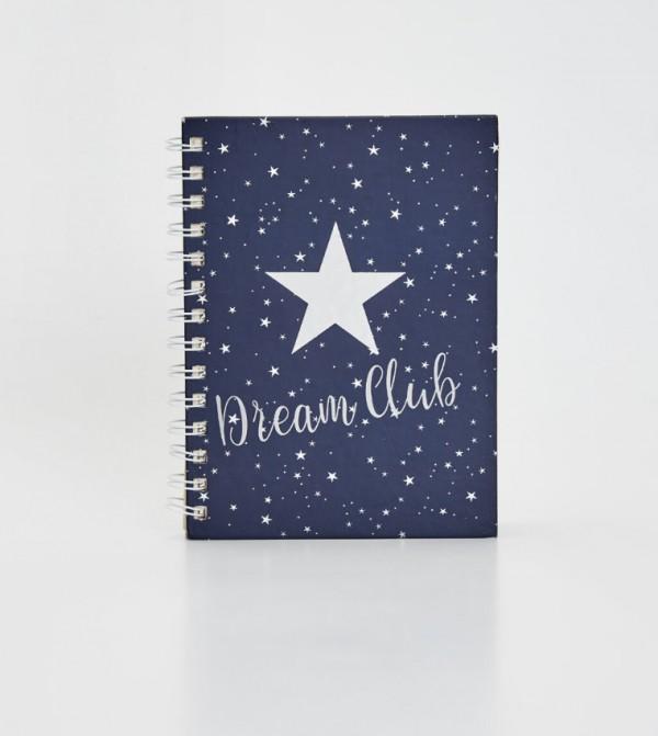 دفتر بسلك حلزوني