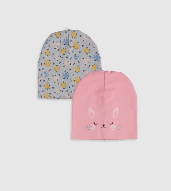 Beanie 2 Pieces-Pink