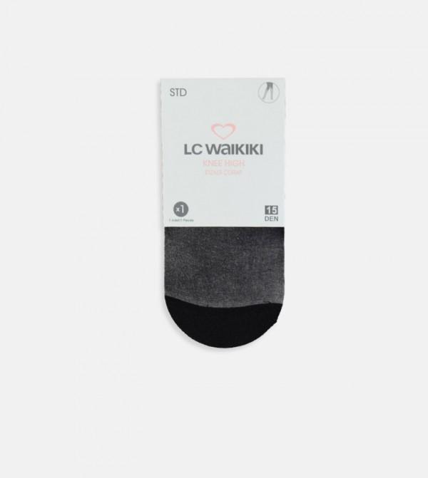 Knee Socks-Black