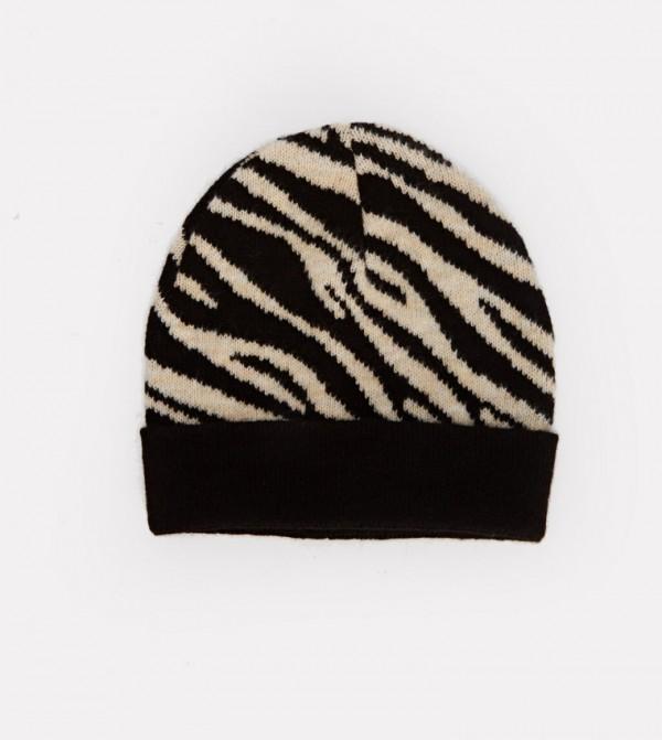 Knitwear Beanie-Black