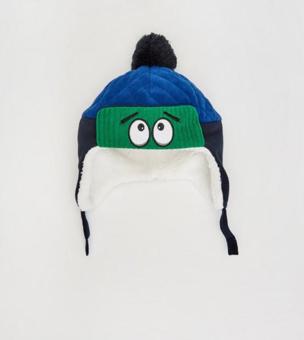 قبعة صوف مبطنة
