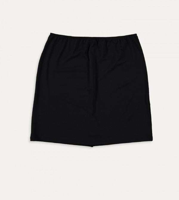 Underskirt Skirt-Black