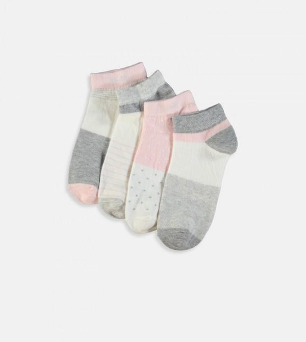 طقم جوارب 4 قطع