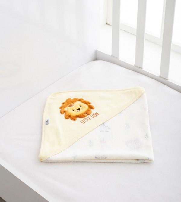 Baby Velvet Bath Towel-Mix Printed