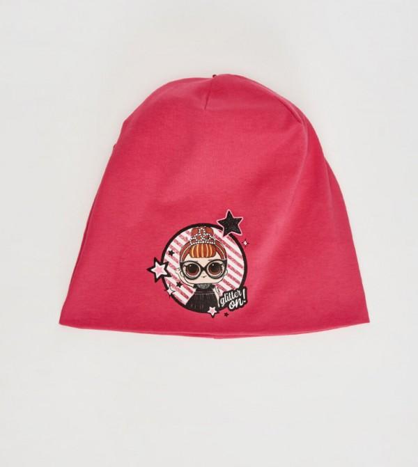 قبعة تريكو مطبّعة