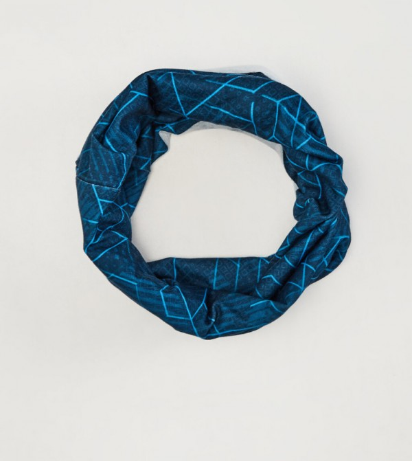 Phosphoric Knitwear Neck Collar-Navy