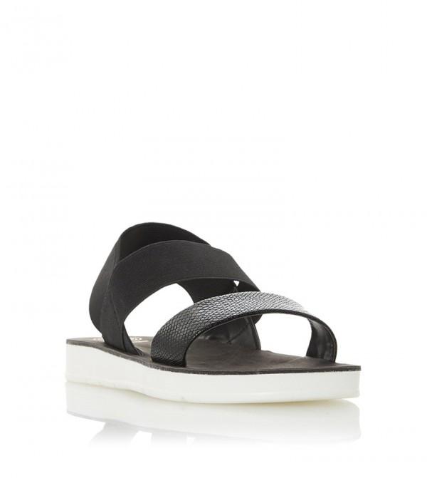 LENIA - Double Strap Slingback Sandal