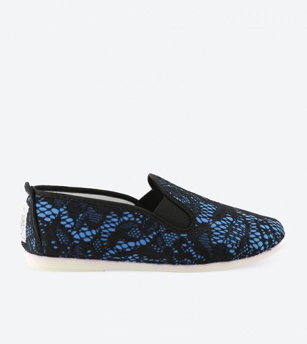 LODOSA-WOM-BLUE-BLACK-LACE