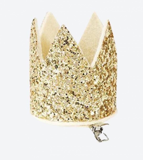 تاج الأميرة لون ذهبي