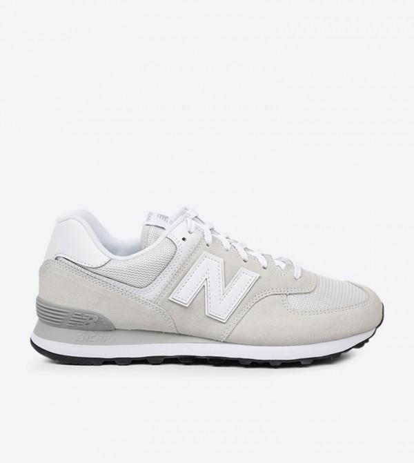 new style 91141 b97f0 New Balance 574 Core Classic Sneakers - Grey - ML574EGW