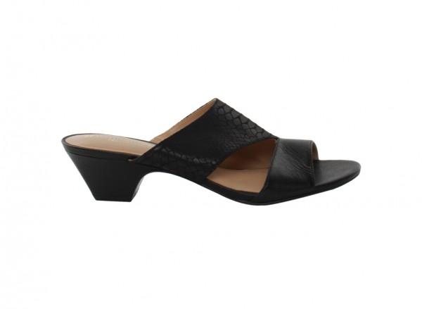 Buena Black Mid Heel
