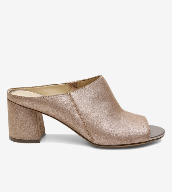 Cyprine Mules - Metallic