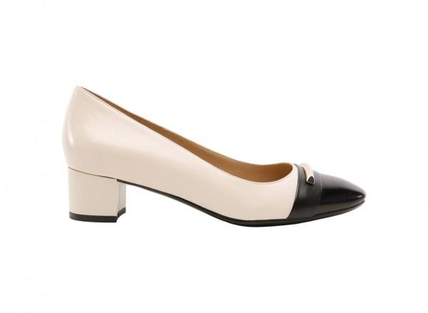 Falynn Black Mid Heel