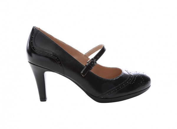 Madelen Black High Heel