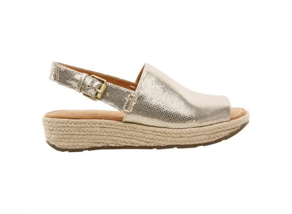 Napralines Gold Footwear