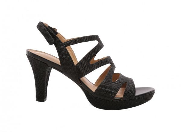 Pressley Black Sandals