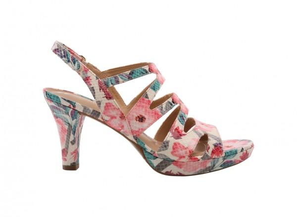Pressley White Sandals