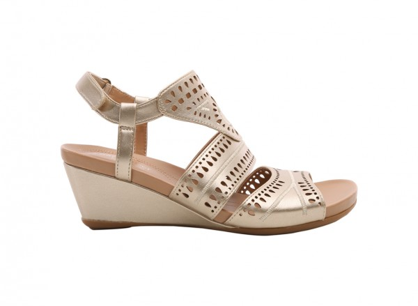 Shaw Metallic Sandals
