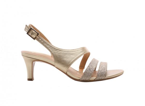 Taimi Gold Sandals
