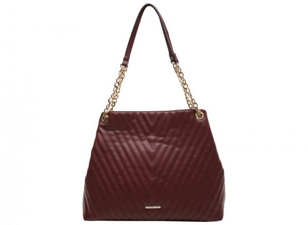 Ingrid Burgundy Shoulder Bags & Tote