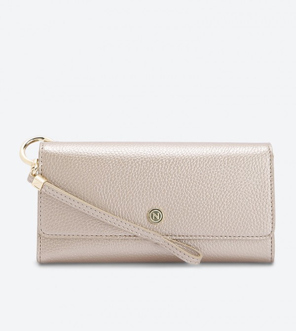 محفظة ناتيلا بلون ذهبي