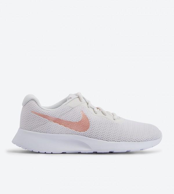 Tanjun Round Toe Sneakers - White