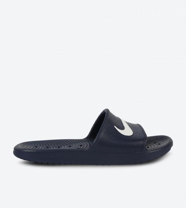 on sale c0223 7772d Kawa Shower Slides - Navy