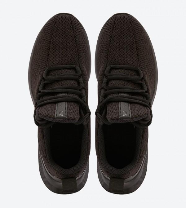 sal Paisaje tarde  Viale Gs Mesh Detail Sneakers - Black