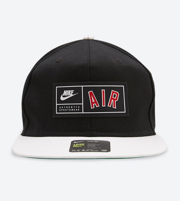 Nsw Pro Air Snapback Hat - Black