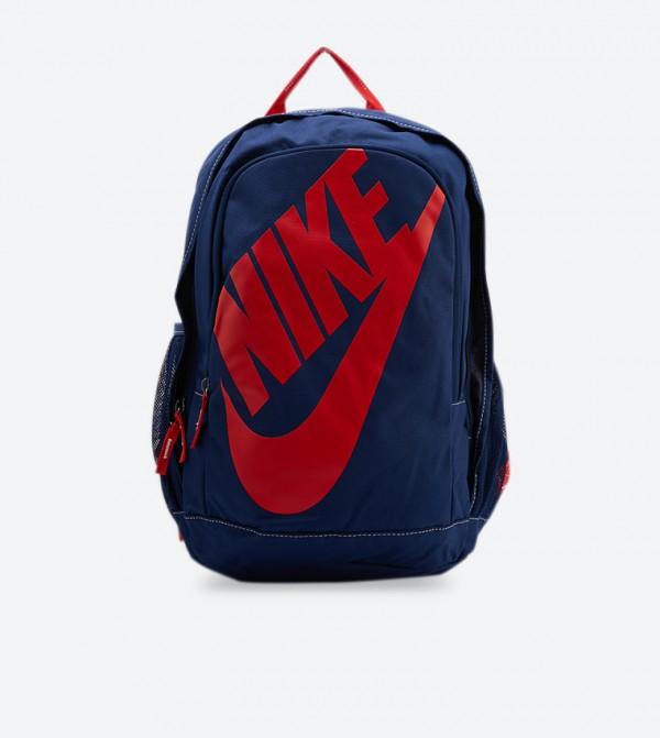 Hayward Futura Solid Zipped Pocket Backpacks - Blue