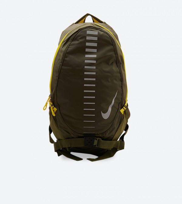 حقيبة ظهر رن كوميوتر بلون أخضر داكن