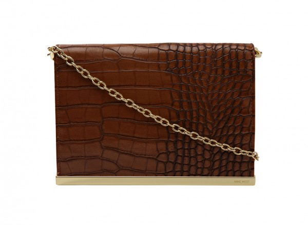 Nine West Divide And Conquer S Handbag Clutch Wallet Md For Women - Man Made Brown