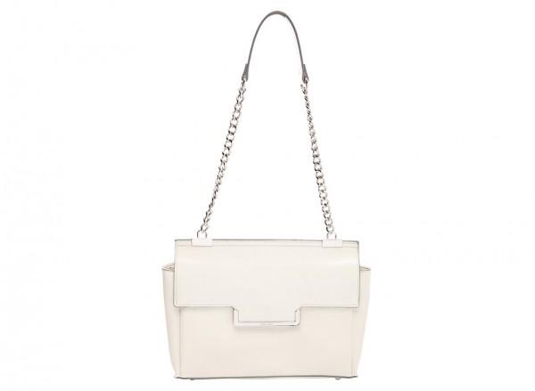 Nine West Strictly Ballroom Handbag Shoulder Bag Md For Women - Man Made White