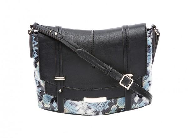 Nine West Tipping Point Handbag For Women - Man Made Black-NW60414413-MULTI