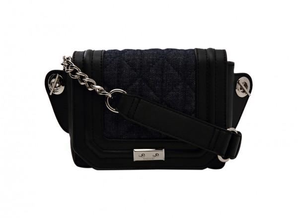 Nine West Internal Affairs Handbag Belt Bag Sm For Women - Fabric Black