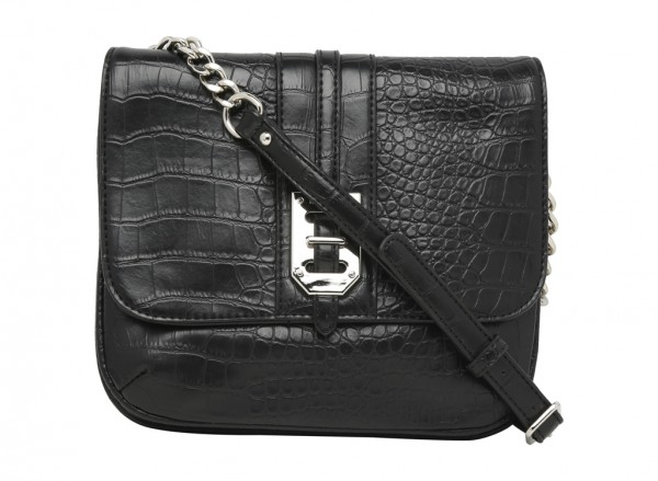 Gleam Team Black Cross Body Bag