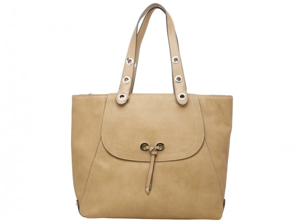 Bohemian Beltway Beige Shoulder Bags