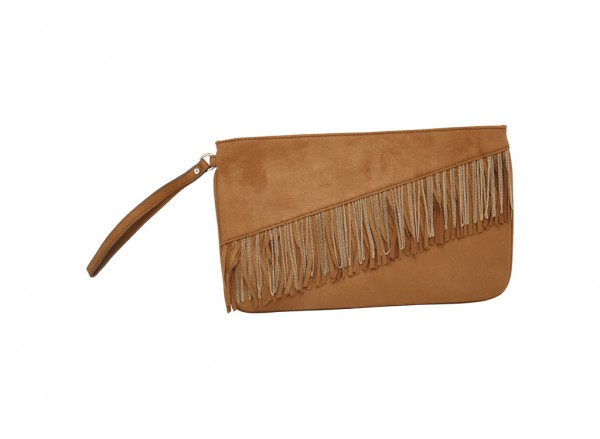 Tan Clutches