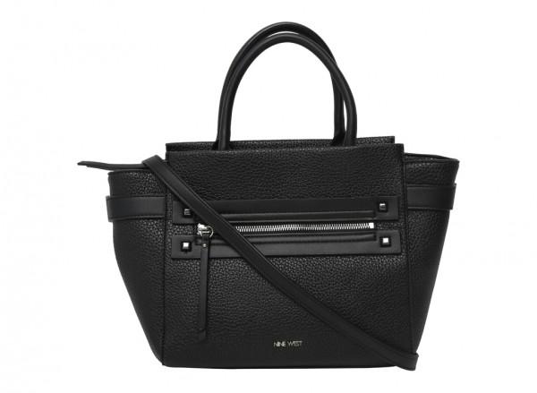 Get Poppin Black Satchels & Handheld Bags