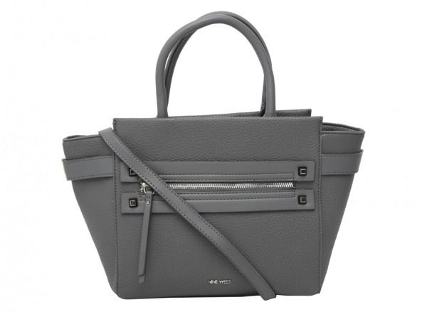 Get Poppin Grey Satchels & Handheld Bags