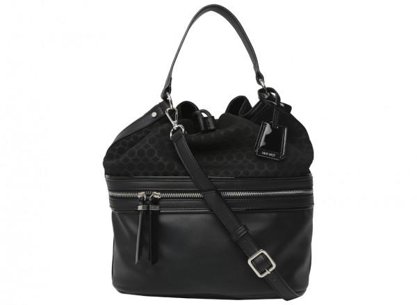 Hot Mesh Black Shoulder Bags & Totes