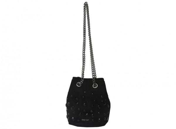 Lyosha Black Shoulder Bags & Totes
