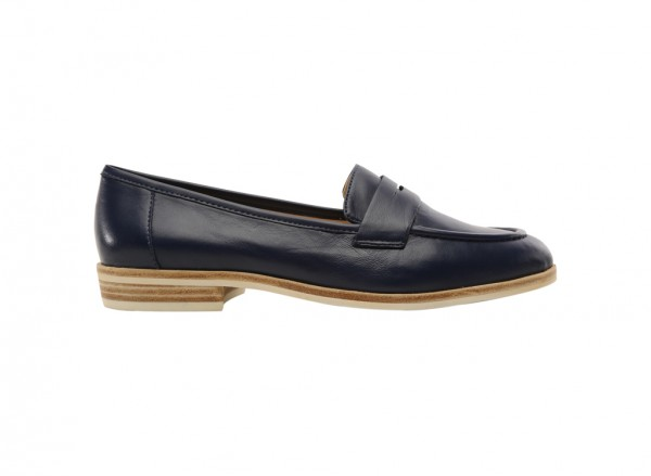 Antonecia Navy Loafers