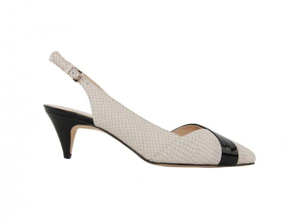 Nwcolbrina White Mid Heel
