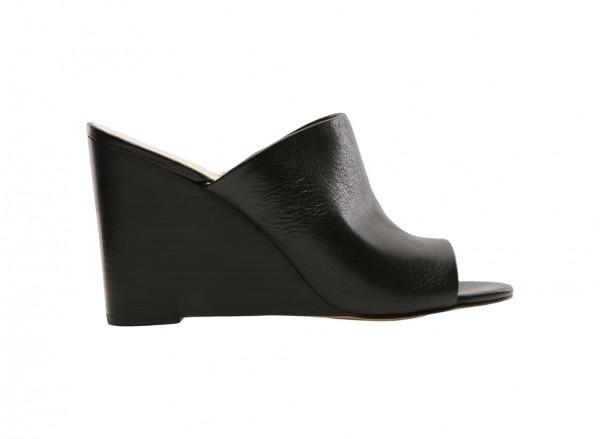 Felana Black Wedge