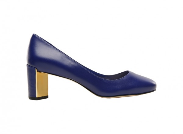 Franny Blue Pumps